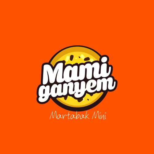 Desain Logo Martabak Mini Mami Ganyem